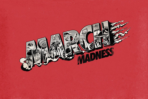 March Madness #design #graphic #typography