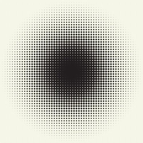 (40) Tumblr #halftone #pattern #blend #pixel #gradient #circle #polka #dot