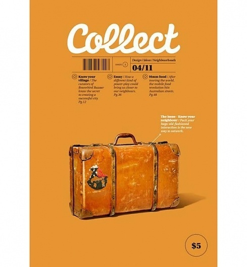 Eight Hour Day » Blog #advertising #luggage #typography