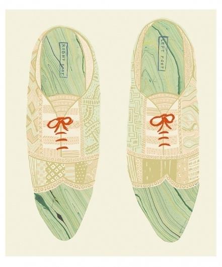 Danielle Kroll #illustration #shoes