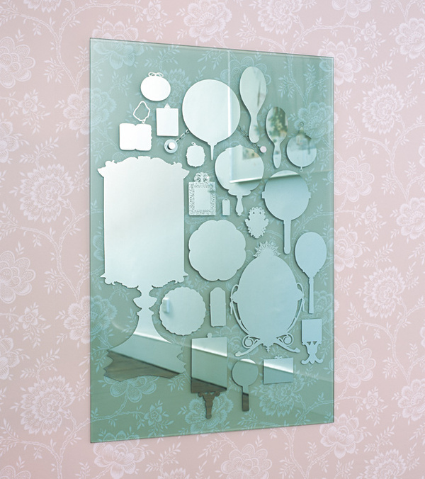 Collecting and/or Curating #glass #mirror