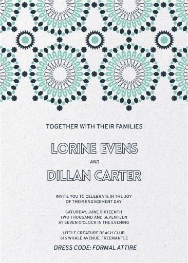 Kaleidoskop - Engagement Invitations #paperlust #weddinginvitation #weddinginspiration #weddingstationery #engagement #engagementinvitation