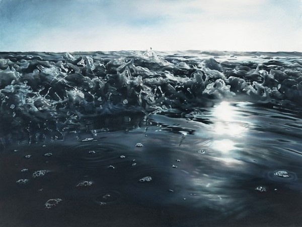 Pastel Icebergs by Zaria Forman 12 #painting #sea #art