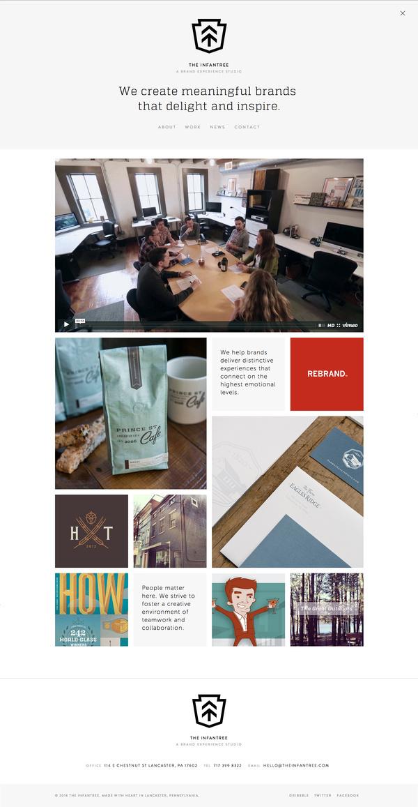 The_infantree_homepage_full #website
