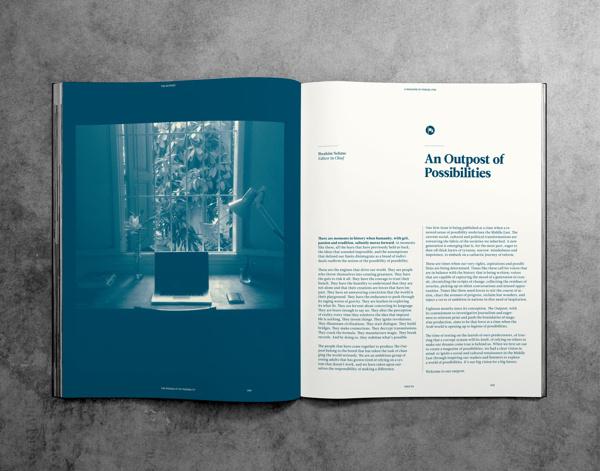 Magazine Layout Inspiration 30 #layout #magazine