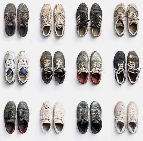 Ozkar: graffiti sneakers - Creative Journal #sneakers