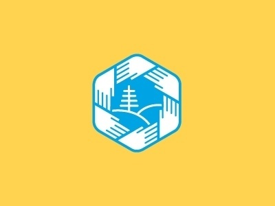 Dribbble - The Health Alliance of Northern California by Sean Heisler #mark #heisler #sean #alliance #health #hands #medical #logo #california