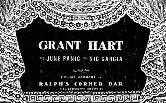 All sizes   Grant Hart By Miss Amy Jo   Flickr - Photo Sharing! #design #graphic #poster