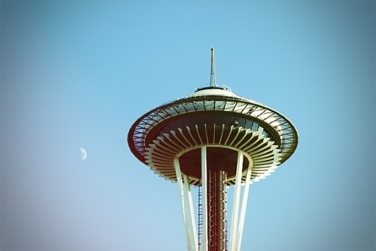Jag Nagra is Page 84 Design #seattle #space #needle #photography #architecture
