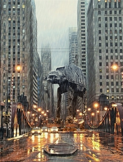AT-AT in Chicago #chicago #at