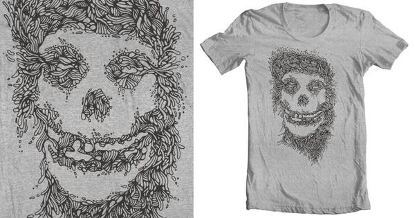 Misfits A Tribute #punk #misfits #threadless #illustration #vote #organic #shirts