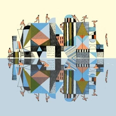 josh-cochran-2.jpg (470×470) #geometry #illustration #patterns #cityscape