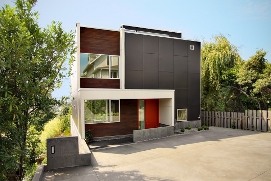 Architecture Photography: Backyard House / SHED Architecture & Design - Backyard House - SHED Architecture & Design (55246) – ArchDaily #concrete #modern #architecture #walls #accent