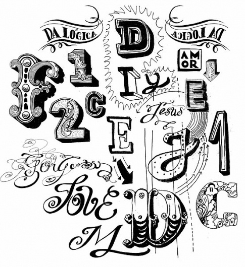 Typography / Hand-lettering // Francisco Martins #type