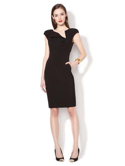 Ava #fashion #sheath #dress #black