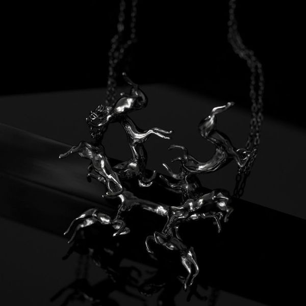 The Black Magical Horse Pendent by SMITH/GREY #horses #black #jewellery #jewelry #necklace