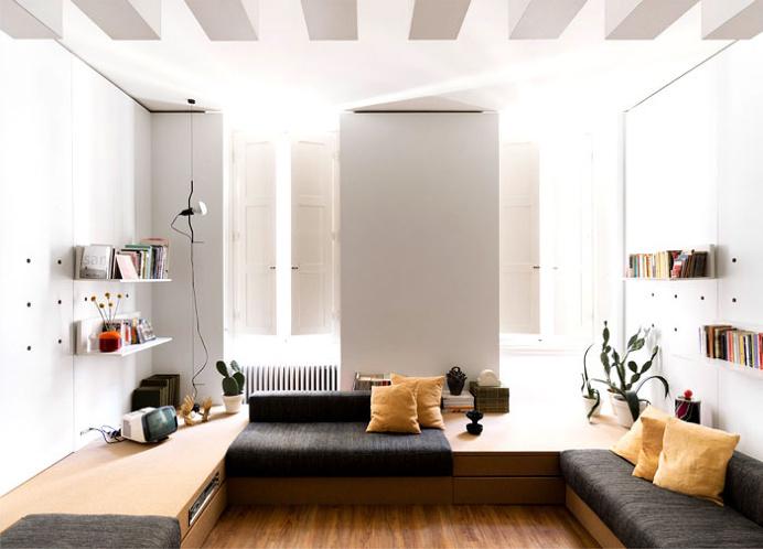 42-square-metre Apartment by Silvia Allori - #decor, #interior, #home