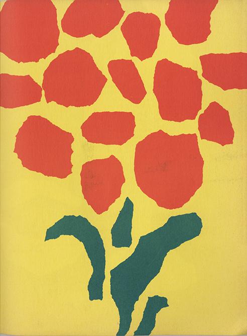 Leo Lionni color paper ad insert #illustration