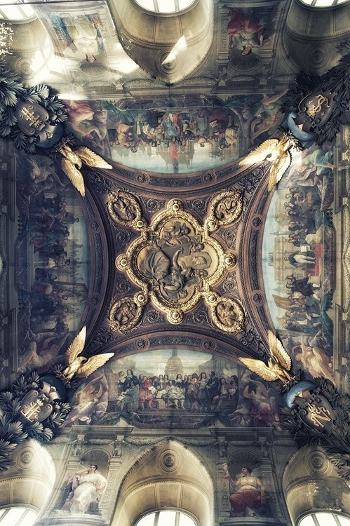 Tumblr #wall #classical #painting #ceiling
