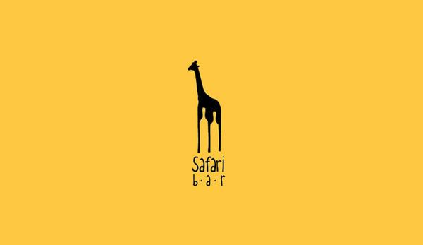 Safari Bar Logo by Roman Kirichenko #logo #design #graphic #identity
