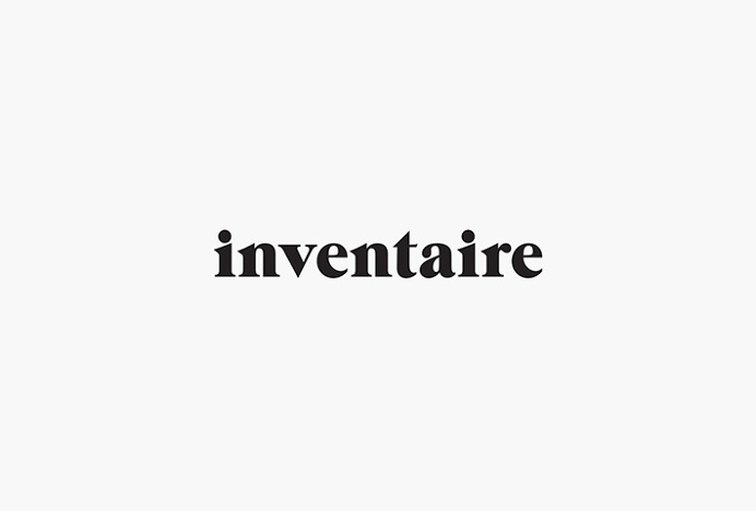 Inventaire Shop by 26 Lettres #logo #logotype #typography