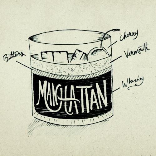 #illustration #handtype #handlettering #design #typography #type #doodle #sketch #drinks #alcohol #mixdrink #cocktail #menu