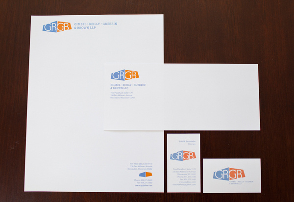GRGB Re-brand and Indentity Image #business #card #personality #contemporary #re #brand #identity #letterhead