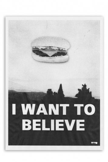 wanttobelieve_big.jpg (756×1125) #print #photocopy #poster #joke #collage