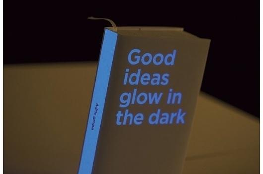 Good ideas glow in the dark — Bruketa&Žinić OM #cover #book