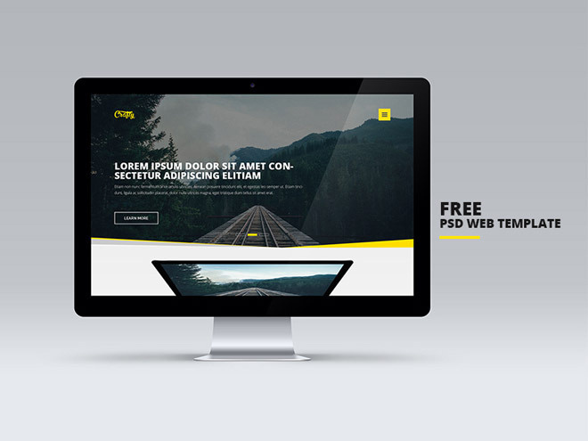Crafty : Free Business PSD Template