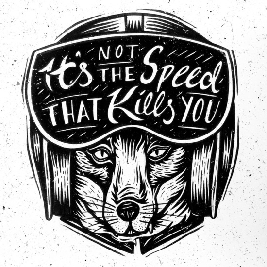 It's Not the Speed by Fontolia (Katie Blaker)