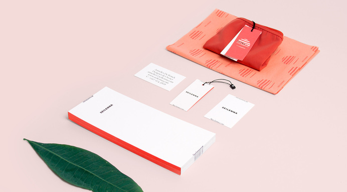 Seilenna branding #branding #visual identity #stationery