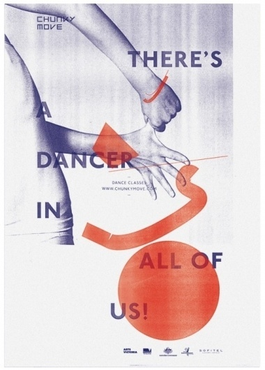 Chunky Move   COÖP #coop #dance #identity #po #poster
