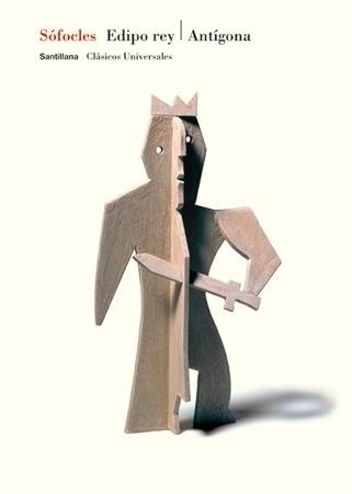 Santillana : Isidro Ferrer #ferrer #huesca #crown #edipo #spain #book #cover #isidro #sofocles #knife #king
