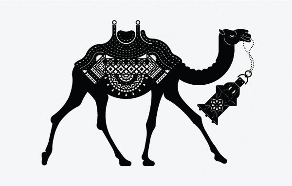 Serena & Lily (new) : Elizabeth Dilk #icon #logo #illustration #camel