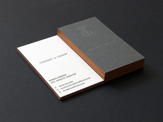 Business Cards. itevenhasawatermark.com » Thought & Theory #business #design #thoughttheory #type #cards #typography