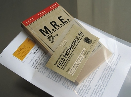 BBQ Post 401 Invitations #packaging #safety #the #mre #kit #republik