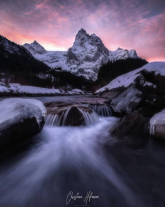 Majestic Long Exposure Landscapes in Switzerland by Christian Hofmann