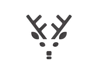 Dribbble - Deer Logo by Michael Stanley #deer #branding #ide #identity #logo