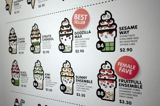 SOFT! #illustration #food #identity #branding
