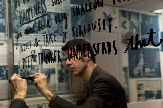 stefan sagmeister: the happy show at ICA, philadelphia #happy #sagmeister