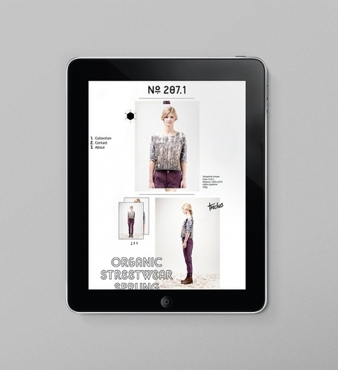 Cesium-137 on the Behance Network #fashion #interactive #online