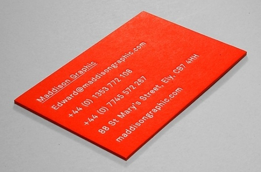 Maddison Graphic Stationery #maddison #primary #business #card #graphic #colours #block #foil