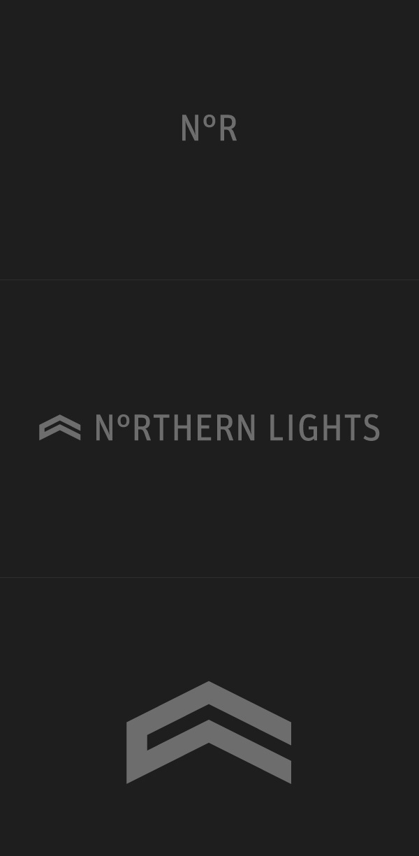 Northern Lights #logo