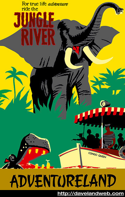 photo #jungle #feaver #river #poster