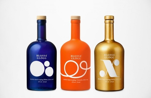 Blossa #packaging #bold #colours #blossa