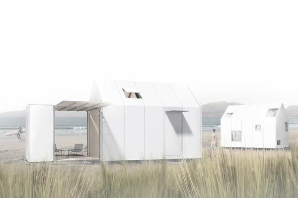 modular microhotel NEW! la buhardi arquitectura #modular #competition #architecture #winner #microhotel