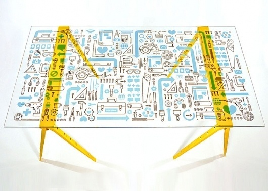 Mikey Burton / Graphic Design, Illustration and Letterpress #mikey #burton #table