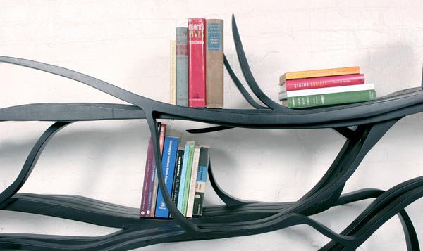 CJWHO ™ (sebastian errazuriz | metamorphosis chilean born,...) #crafts #design #books #wood #furniture #art #bookshelf
