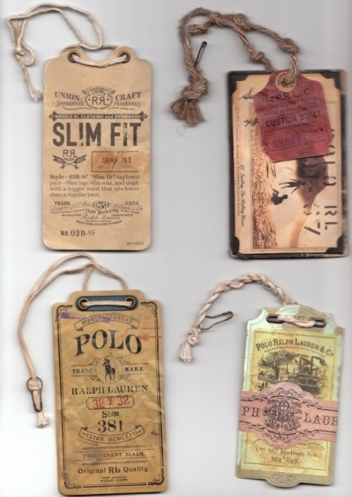 PRLht1 #packaging #print #polo #ralph #tag #lauren #vintage #fashion #typography